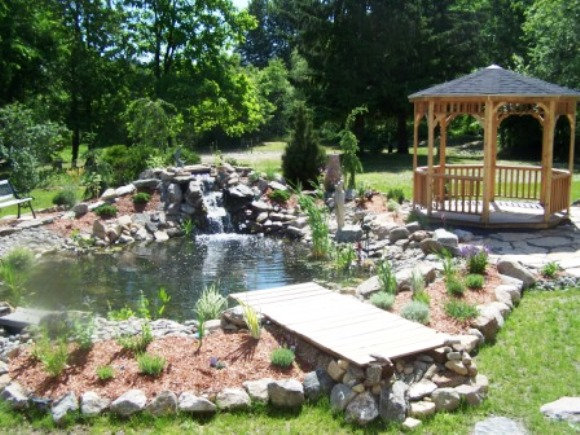 Landscape Design B by Natural Earth Garden Designs